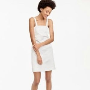JCrew convertible strap dress in embossed floral